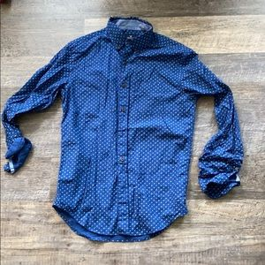 Blue American Eagle button up size XS